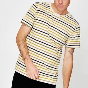 Banks Journal | Buddy T-Shirt Yellow Striped XL